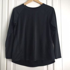 Joe Fresh Black Active Long Sleeve